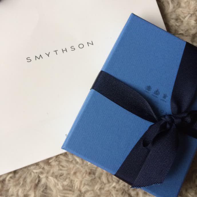 スマイソンをプレゼント