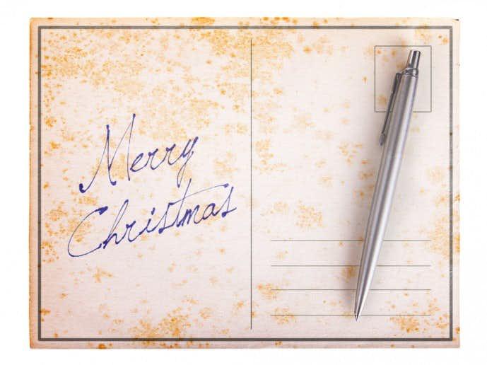 クリスマスプレゼントにボールペン
