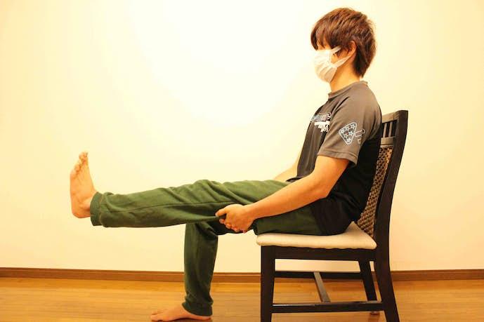 大腿四頭筋を伸ばせるストレッチ方法