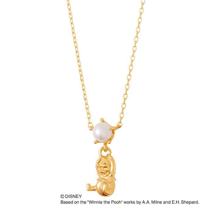 ディズニーのプレゼントにザ_キッスのくまのプーさんゴールドネックレス.jpg