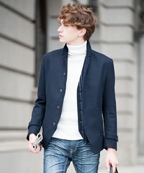 コートとジャケットの良いところを合わせたコート