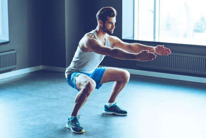 太ももを効果的に鍛えられる自重トレーニングメニュー