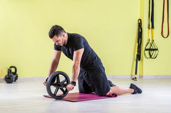 腹筋ローラーのおすすめトレーニング