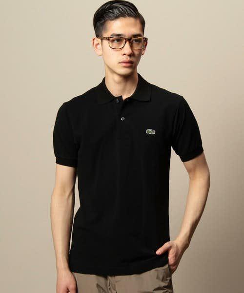 コーデで使っている黒ポロシャツ