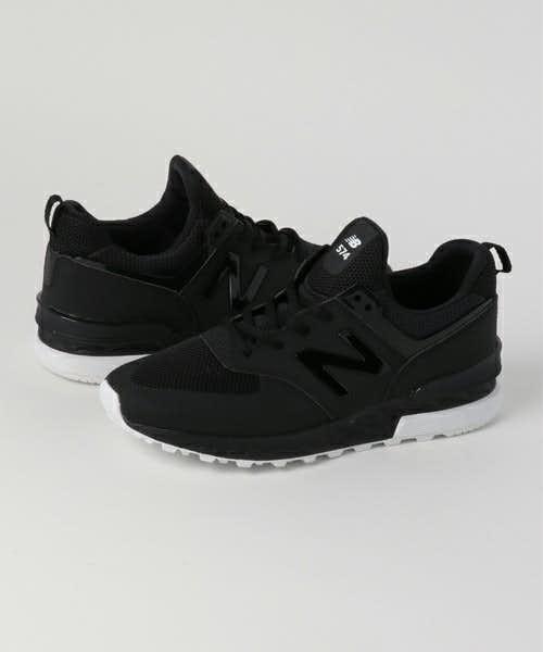 黒のニューバランス574
