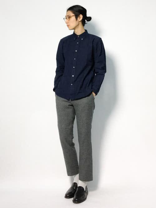 73feff186f6403 ネイビーシャツのメンズ着こなし術。知的で大人っぽいおしゃれコーデ10選 | Smartlog