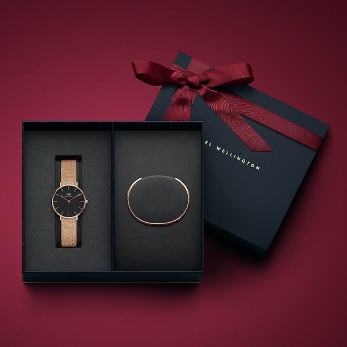 2017年のクリスマスプレゼントはダニエルウェリントンの限定モデル