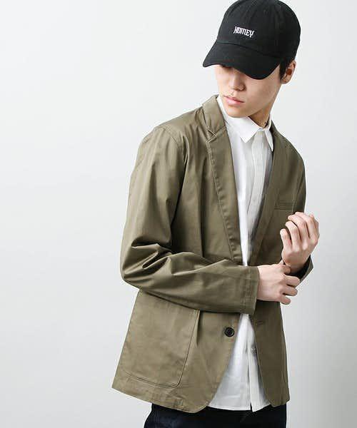 WEGOのカーキジャケット