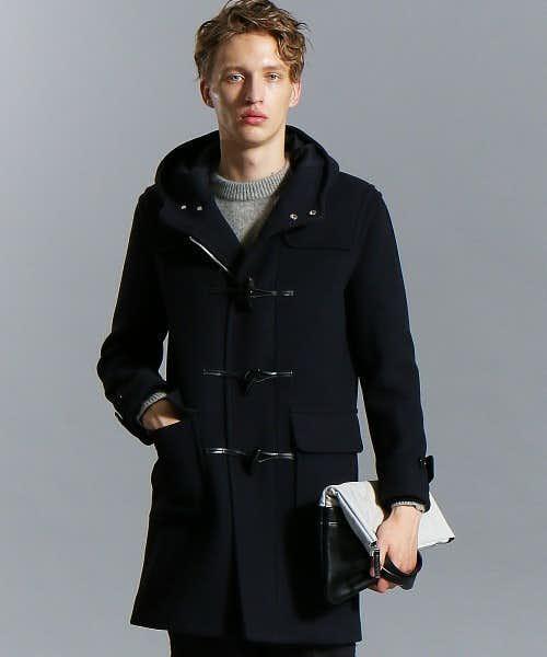 キレイなシルエットのコート