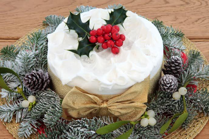 大学生の彼女のクリスマスプレゼントにクリスマスケーキ