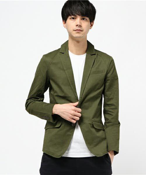 A.S.Mのカーキジャケット