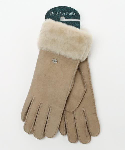 彼女へのクリスマスプレゼントいにエミュの高級手袋を