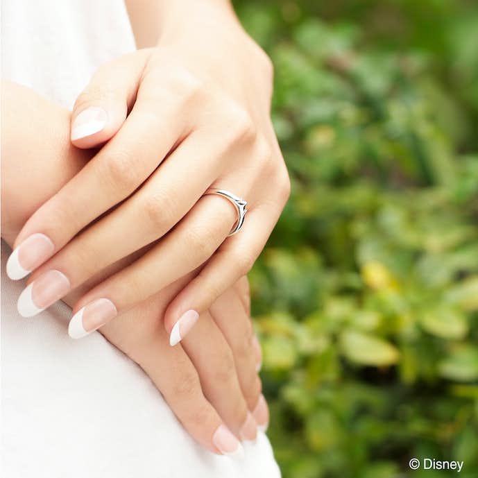 ケイ・ウノ結婚指輪