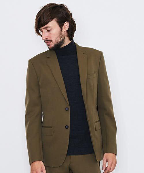 UNITEDTOKYOのカーキジャケット