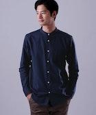 ネイビーシャツのメンズ着こなし術。知的で大人っぽいおしゃれコーデ10選 | Smartlog