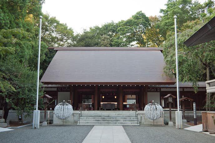 2018年の初詣は乃木神社