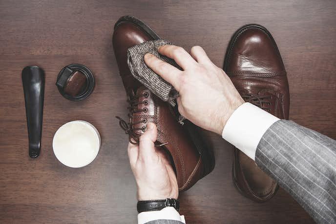革靴の日常的に行うお手入れ方法