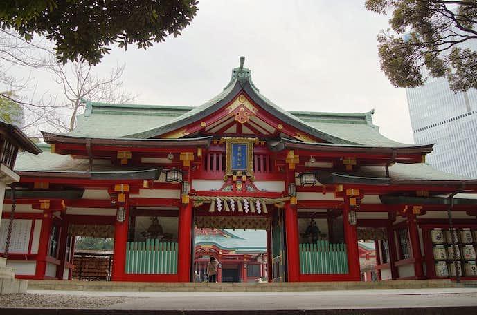 2018年の初詣は日枝神社