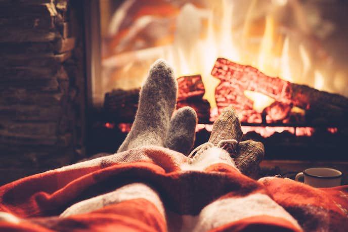 冬の家デート