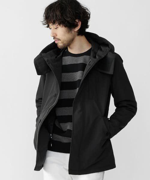 中綿の入ったコート