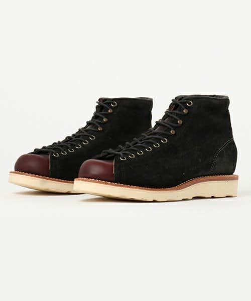 チペワのメンズ黒ブーツ