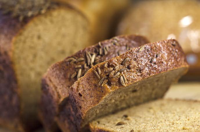 ホームベーカリーで作ったパン