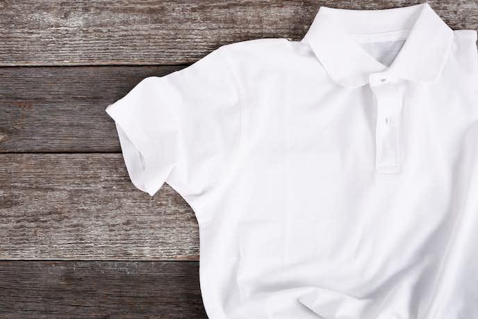 白ポロシャツの着こなし術