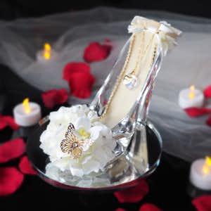 女性に贈りたい花プレゼントはガラスの靴