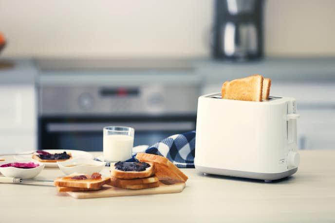 おしゃれなデザイン家電のトースター
