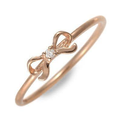 彼女へのプレゼントにアチエのピンクゴールドの指輪.jpg
