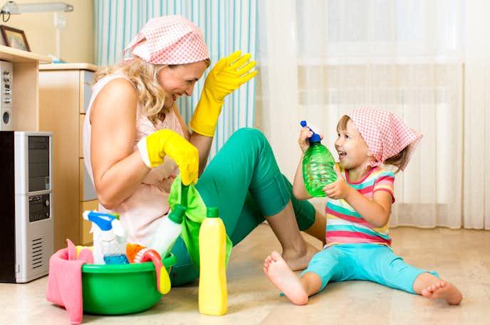 スチーム式加湿器の掃除方法
