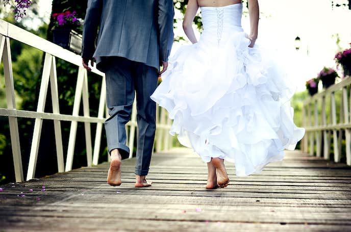 結婚記念日の言い方。今年は結婚してから何年?