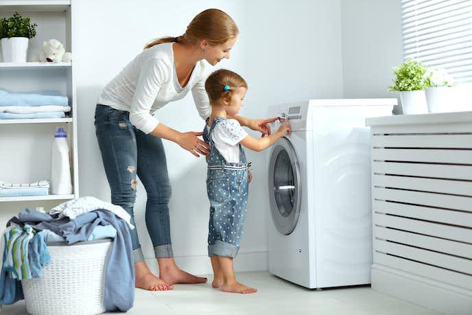 おしゃれなデザイン家電の洗濯機