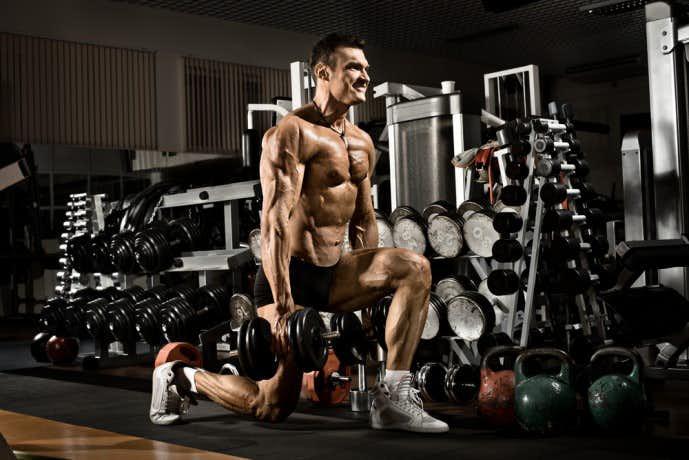 大腿二頭筋を鍛えられるレッグランジトレーニング