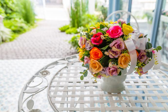 予算1万円で花のプレゼント