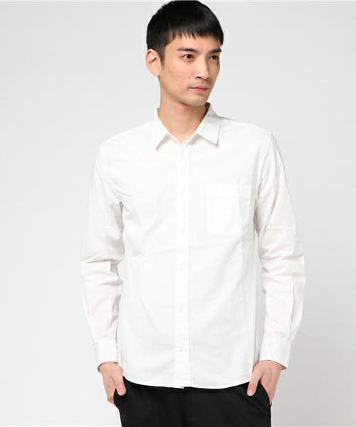 burnerの白シャツ