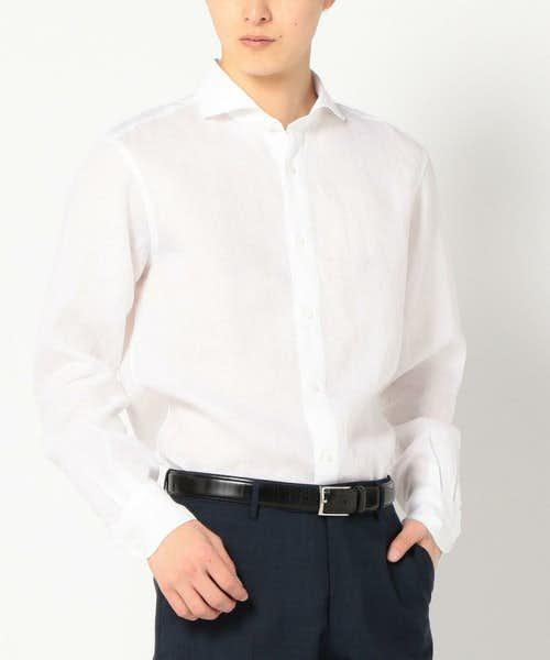 SHIPSの白シャツ