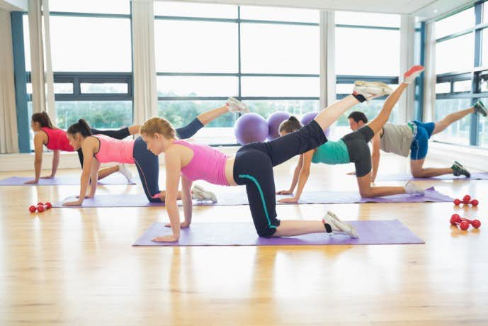 半腱様筋と大臀筋を鍛えられるトレーニング