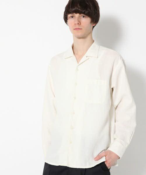 GLOBALWORKの白シャツ