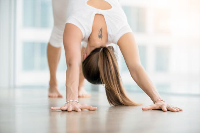 三角筋を効果的に鍛えられるパイクプレストレーニング