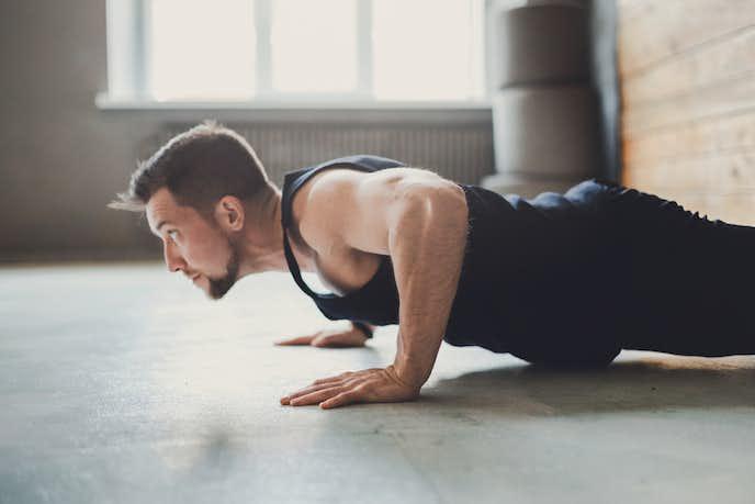 大胸筋を鍛えられる自重トレーニングメニュー