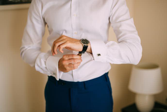 ビジネスシーンを格上げする腕時計
