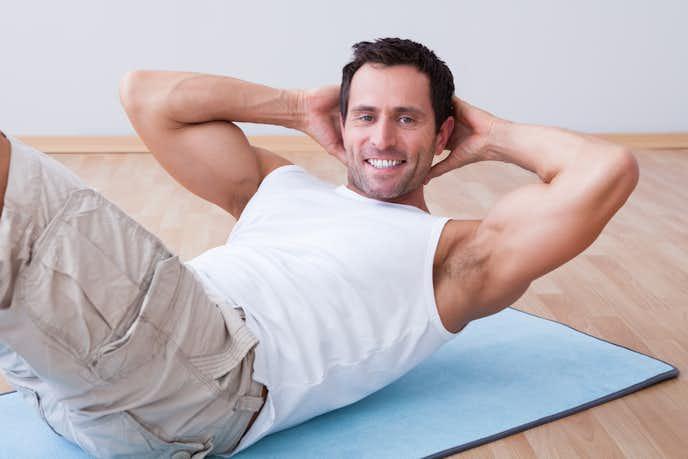 腸骨筋を鍛えられるレッグレイズトレーニング