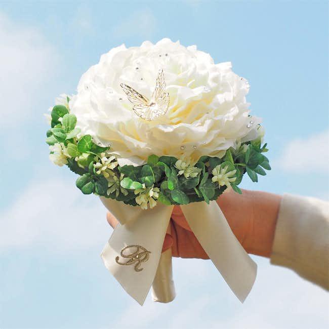 4_5年記念日のプレゼントにクローバーリングブーケ.jpg