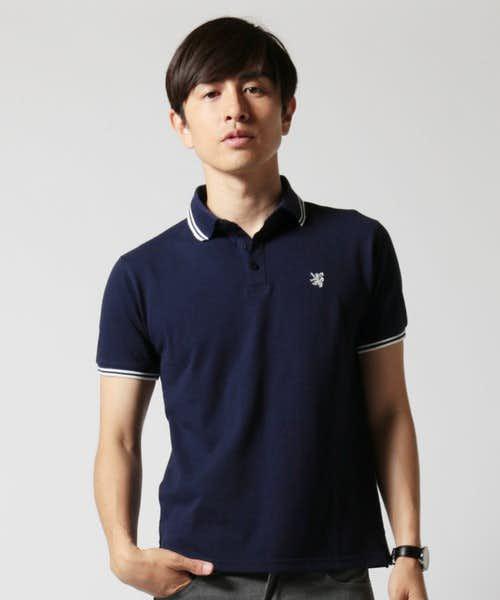 TCのネイビーポロシャツ