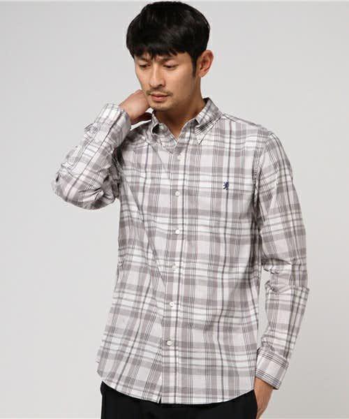 ジムフレックスの人気チェックシャツ