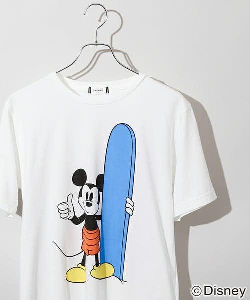 王道のミッキーTシャツ