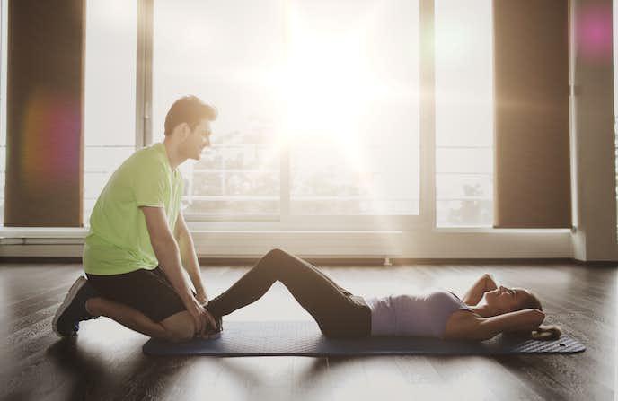 腹横筋を鍛えられるヒップリフトトレーニング