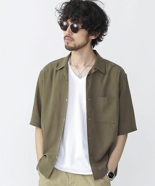 ナノユニバースのテンセルシャツ