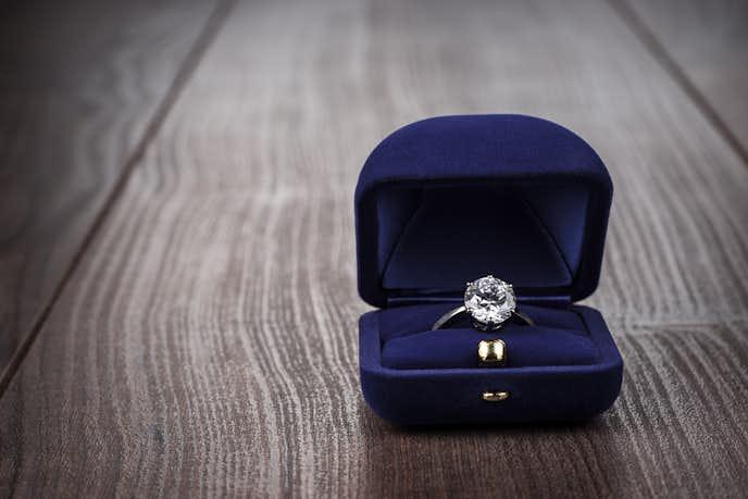 彼女への2年記念日のプレゼントに指輪